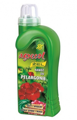 Nawóz do pelargonii 0,5l mineral żel